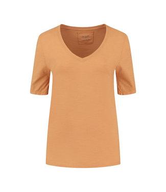 Be Pure Zoë t-shirt burnt orange