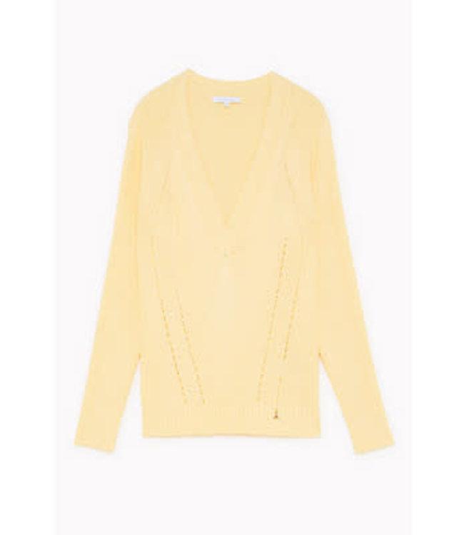 Patrizia Pepe Knit limestone yellow