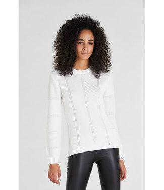 Patrizia Pepe Knit shiny white