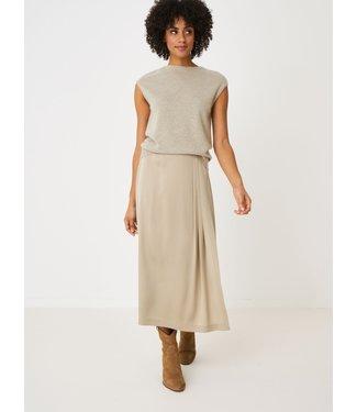 REPEAT cashmere Silk skirt pepper