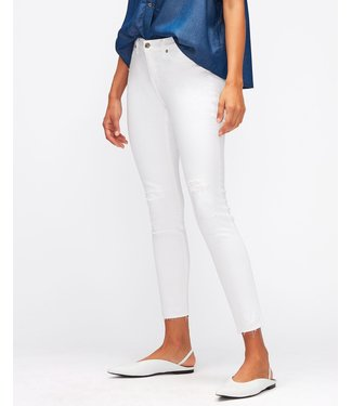 7 For All Mankind Skinny crop white
