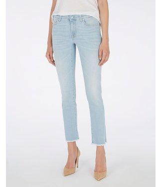 7 For All Mankind Pyper crop jeans light blue