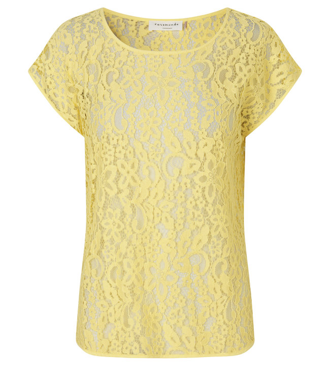 Rosemunde Top vanilla yellow