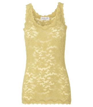 Rosemunde Top lace vanilla yellow