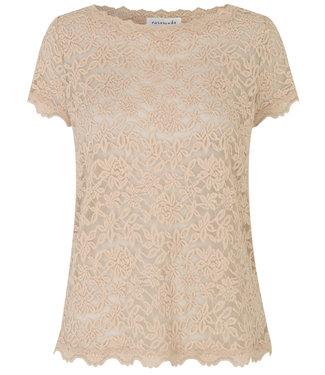 Rosemunde Shirt lace misty sand