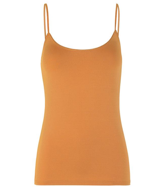 Rosemunde Strap top dusty orange