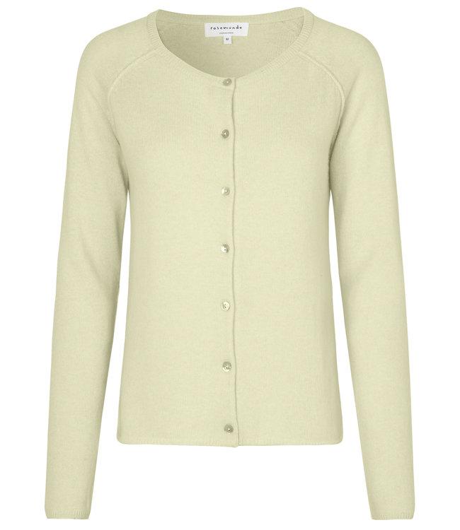 Rosemunde Cardigan light vanilla yellow