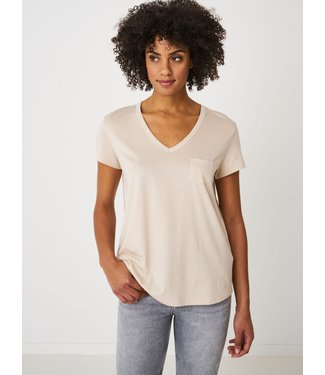 REPEAT cashmere Shirt beige