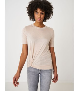 REPEAT cashmere Top beige