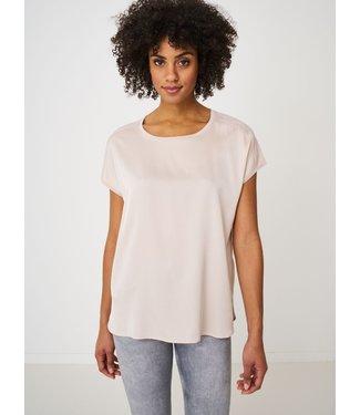 REPEAT cashmere Shirt silk beige