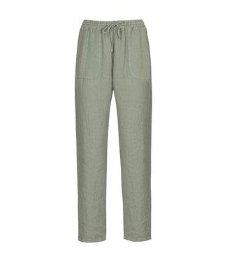 No Man's Land Trousers linen sage