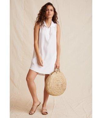 Bella Dahl A-Line Shirt Dress White