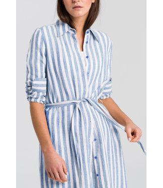 Marc Aurel Lange jurk seaside blue