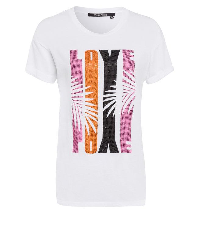 Marc Aurel Shirt white pink