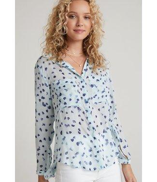 Bella Dahl Hipster Shirt Seaspray