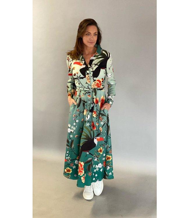 EST'SEVEN Est'Maxi dress Big Toekan