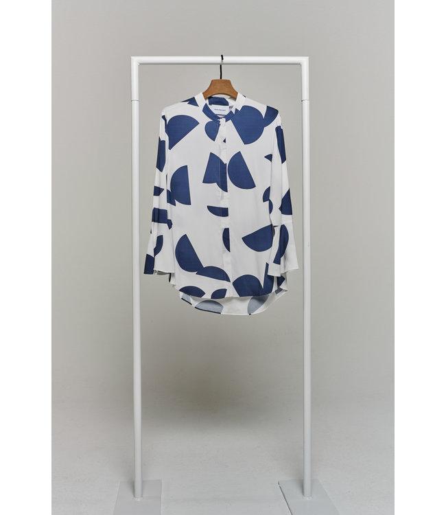 herzen'S angelegenheit Blouse white/blue