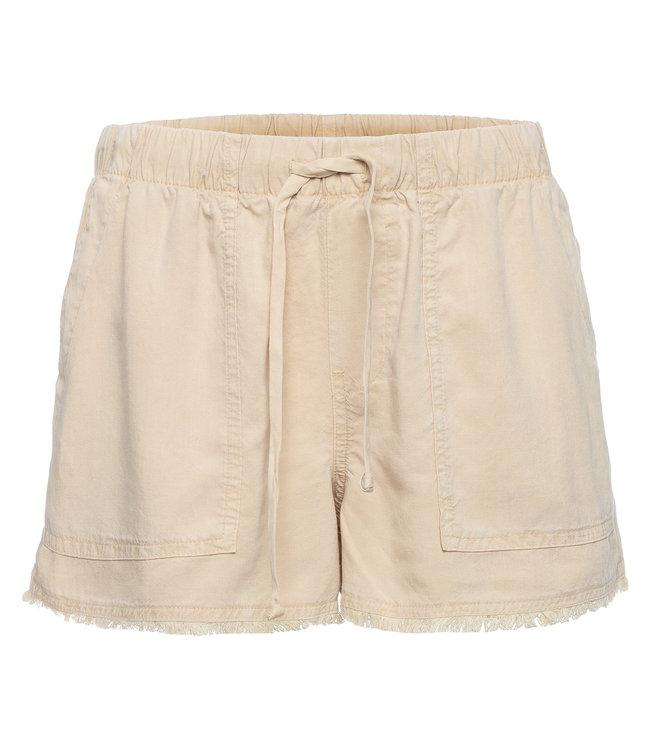 Bella Dahl Fray Hem Short Soft Khaki