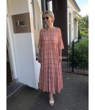 Genesis ILUH long dress Dona Spice/coconut