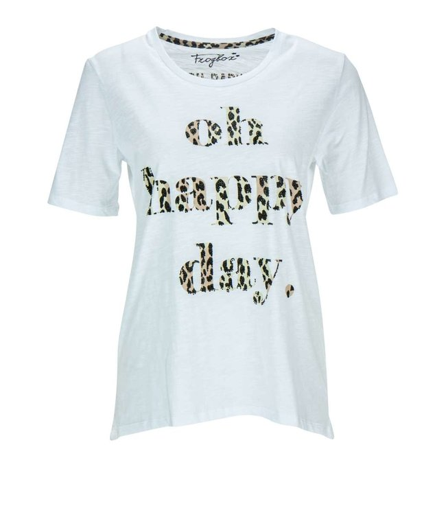 Frogbox Oh happy day leo shirt