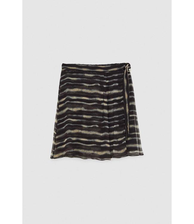 Patrizia Pepe Skirt Natural Tie Dye