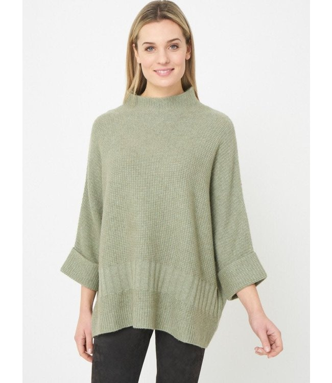REPEAT cashmere Sweater sage w/c one size