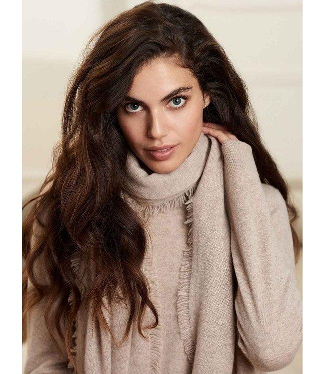 REPEAT cashmere Cashmere shawl sand