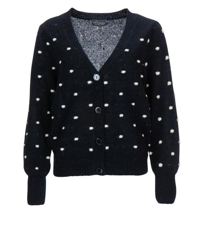 Princess goes Hollywood Cardigan knitted dots