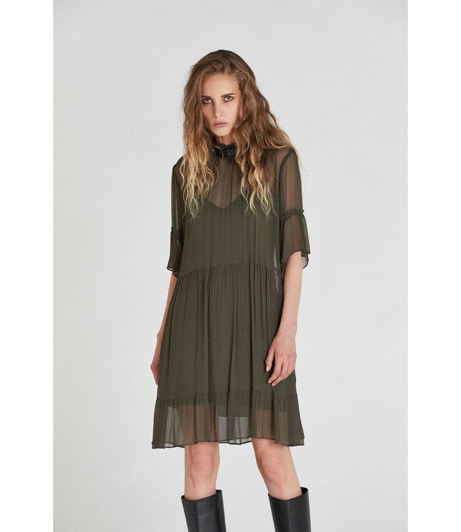 Patrizia Pepe Dress Toscana Green