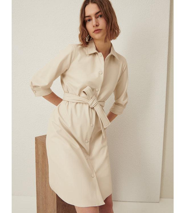 Marella Dress Bronte wool white