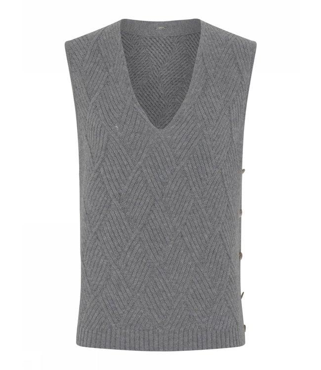 Gustav Kelly knit vest iron