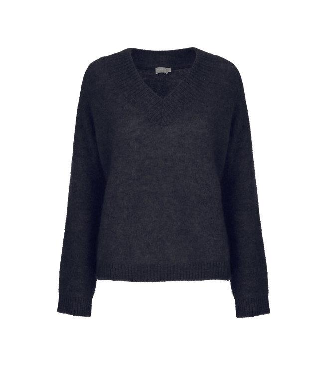 No Man's Land Sweater blue black