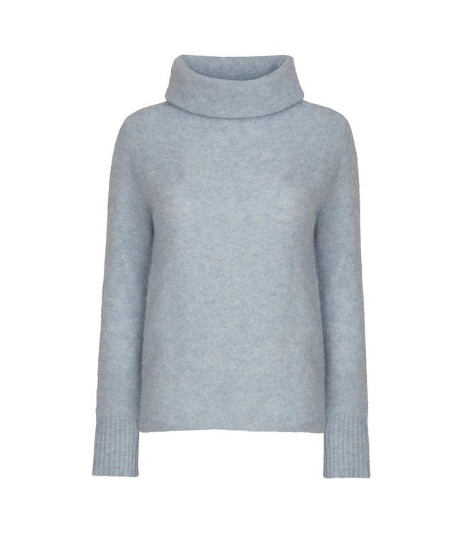 No Man's Land Sweater coll soft sky