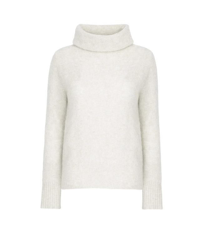 No Man's Land Sweater coll ivory