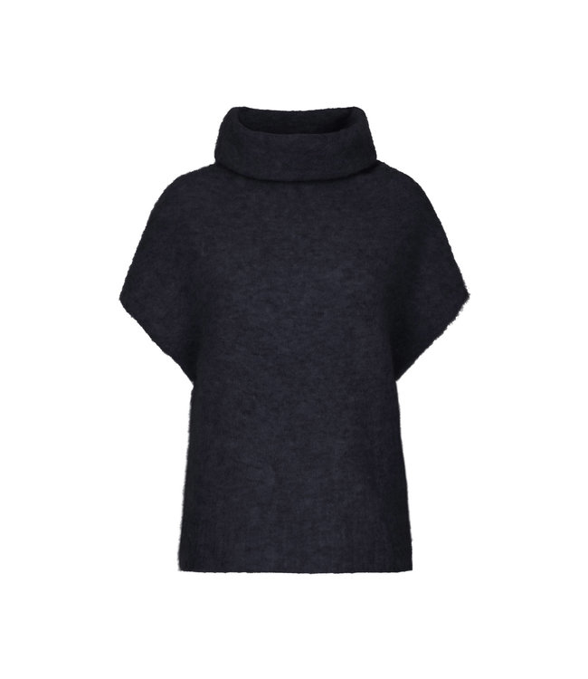 No Man's Land Knit top blue black