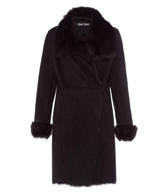 Marc Aurel Coat black