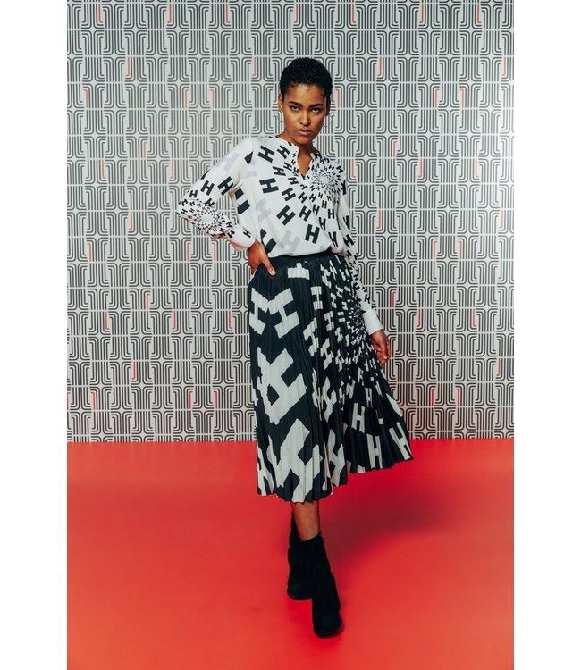 herzen'S angelegenheit Skirt black/white