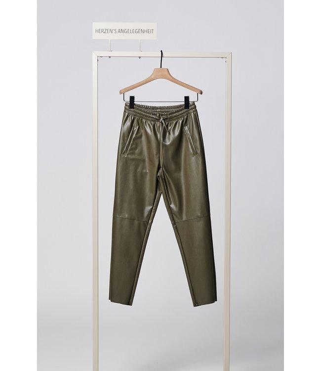 herzen'S angelegenheit Vegan leather pants floret