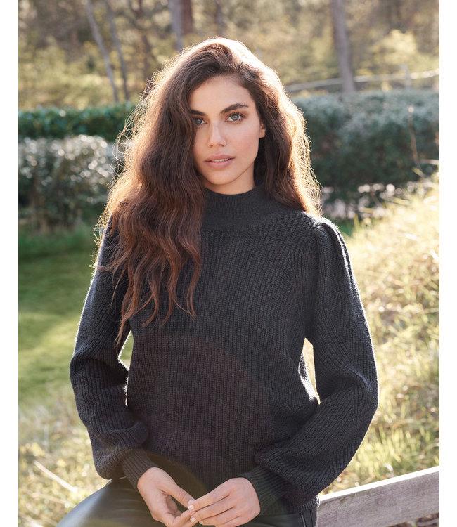 REPEAT cashmere Sweater dark grey