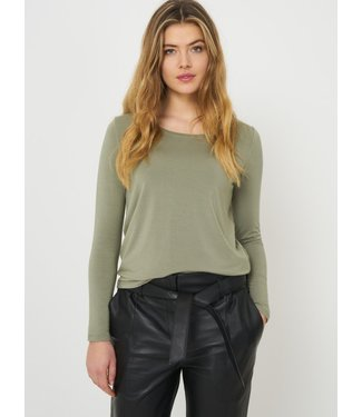 REPEAT cashmere T-shirt sage