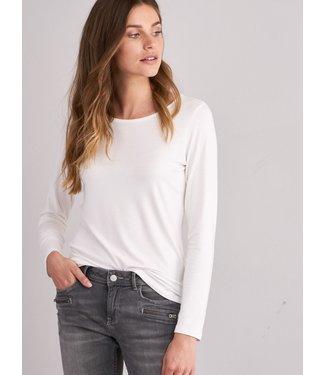 REPEAT cashmere T-shirt cream