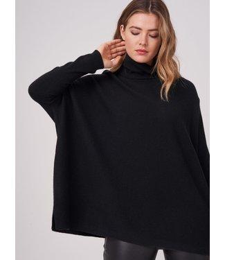 REPEAT cashmere Sweater w/c black