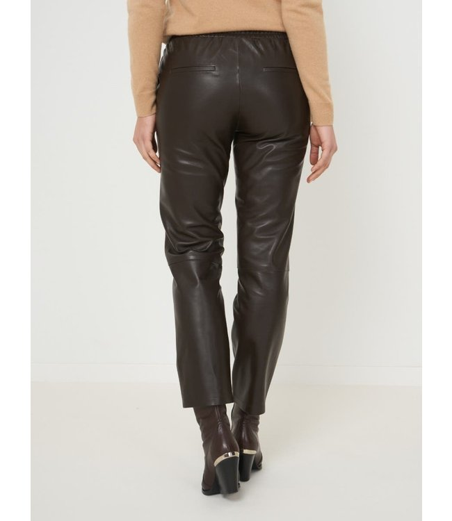 REPEAT cashmere Leather pants morro