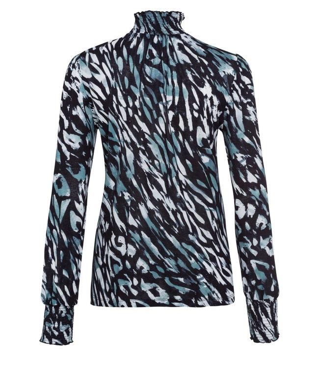 Marc Aurel Shirt coll dark jade
