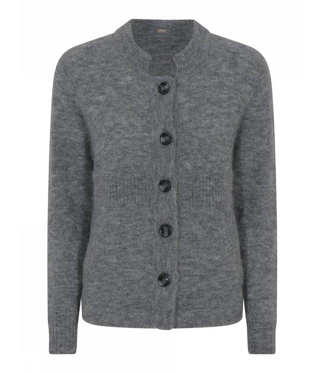 Gustav Bera knit cardigan iron
