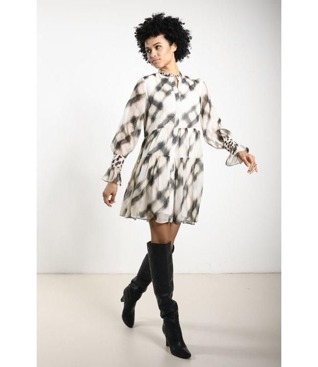 Dream Catcher Dress Fay Leopard ivory