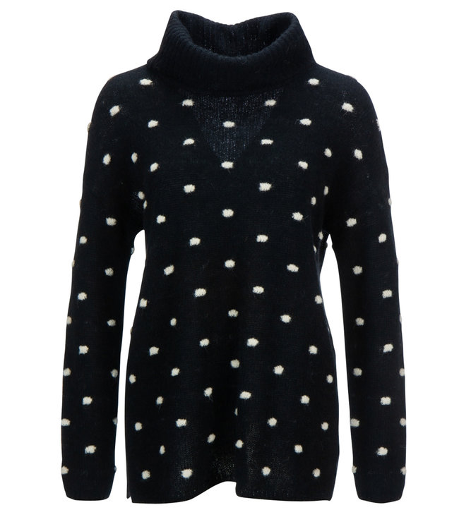 Princess goes Hollywood Long pullover knitted dots