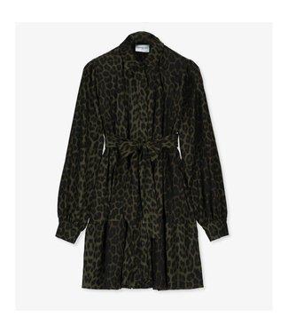 EST'SEVEN Est'Jolanda dress Army Leopard