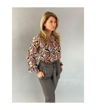 EST'SEVEN Est'Gulsah blouse Saint Germain Print