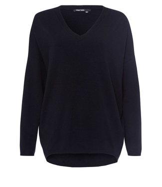 Marc Aurel Sweater V-hals black